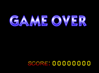 The Game Over Screen In SSB