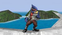 Falco Idle Pose 2 Brawl.png
