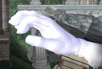 By performing the glitch, Master Hand can be used on any stage.