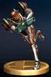 Samus (Dark Suit) - Brawl Trophy.png