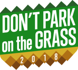 Don't Park on the Grass 2018 logo.png