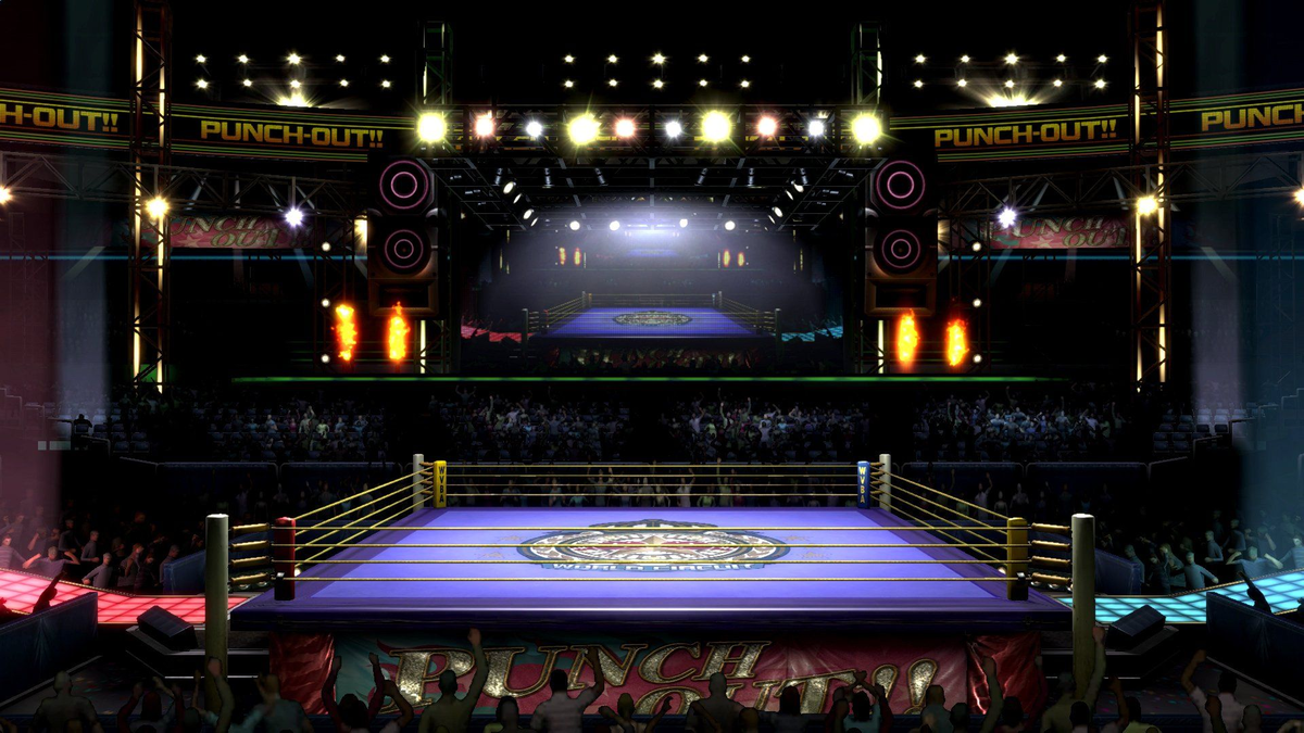 Boxing Ring - SmashWiki, the Super Smash Bros. wiki