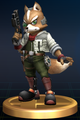 Fox - Brawl Trophy.png