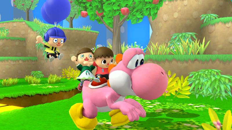 File:SSB4-Wii U Congratulations Classic Yoshi.png