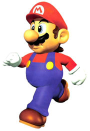 Marios Official Artwork In Super Mario 64 The Basis Of His Design Smash Bros And Melee