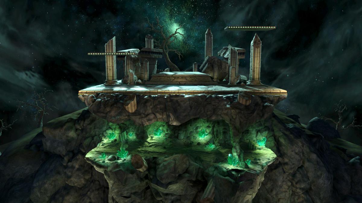 Spear Pillar - SmashWiki, the Super Smash Bros  wiki