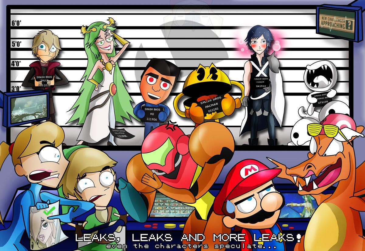 Gematsu leaks - SmashWiki, the Super Smash Bros  wiki