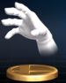 Master Hand - Brawl Trophy.png