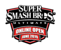 Super Smash Bros. Ultimate Online Open June 2019 Logo.png