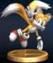 Tails - Brawl Trophy.png