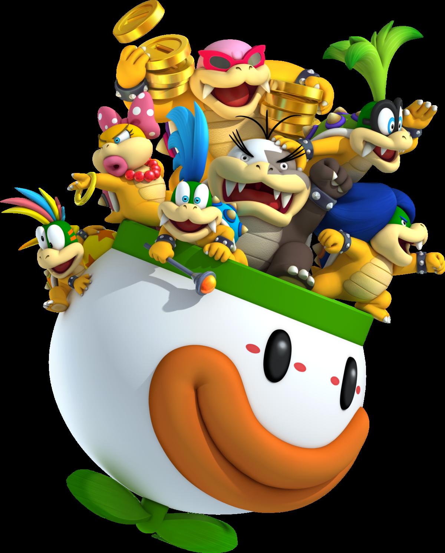Koopalings Smashwiki The Super Smash Bros Wiki