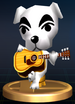 K.K. Slider - Brawl Trophy.png