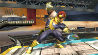 Captain Falcon Idle Pose 1 Brawl.png