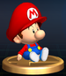 Baby Mario - Brawl Trophy.png