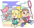 Villager and Isabelle artwork.jpg