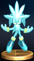 Silver the Hedgehog - Brawl Trophy.png