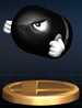 Bullet Bill - Brawl Trophy.png