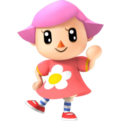 Villager Female SSB4.png