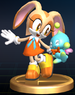 Cream the Rabbit - Brawl Trophy.png