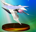 Arwing Trophy Melee.png