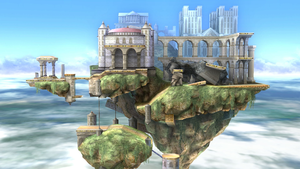 Temple as it appears in SSB4