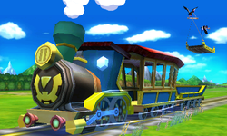 Toon Train Is Traveling At The Speed Of M S