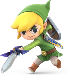 Toon Link (SSBU) - SmashWiki, the Super Smash Bros  wiki