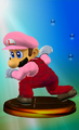 Luigi Trophy (Smash 2).png