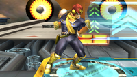 Captain Falcon Idle Pose 2 Brawl.png