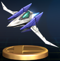 Arwing - Brawl Trophy.png