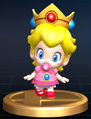 Baby Peach - Brawl Trophy.png