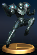 Dark Samus - Brawl Trophy.png