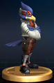 Falco - Brawl Trophy.png