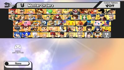 character selection screen smashwiki the super smash