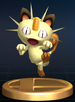 Meowth - Brawl Trophy.png