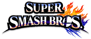 Super Smash Bros 4 merged logo, no subtitle.png