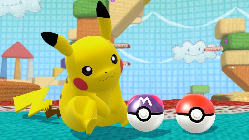File:SSB4-Wii U Congratulations Classic Pikachu.png