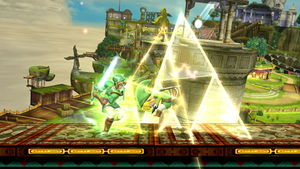 Triforce Slash - SmashWiki, the Super Smash Bros. wiki