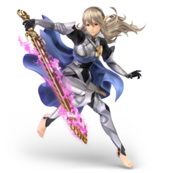 corrin ssbu smashwiki the super smash bros wiki. Black Bedroom Furniture Sets. Home Design Ideas
