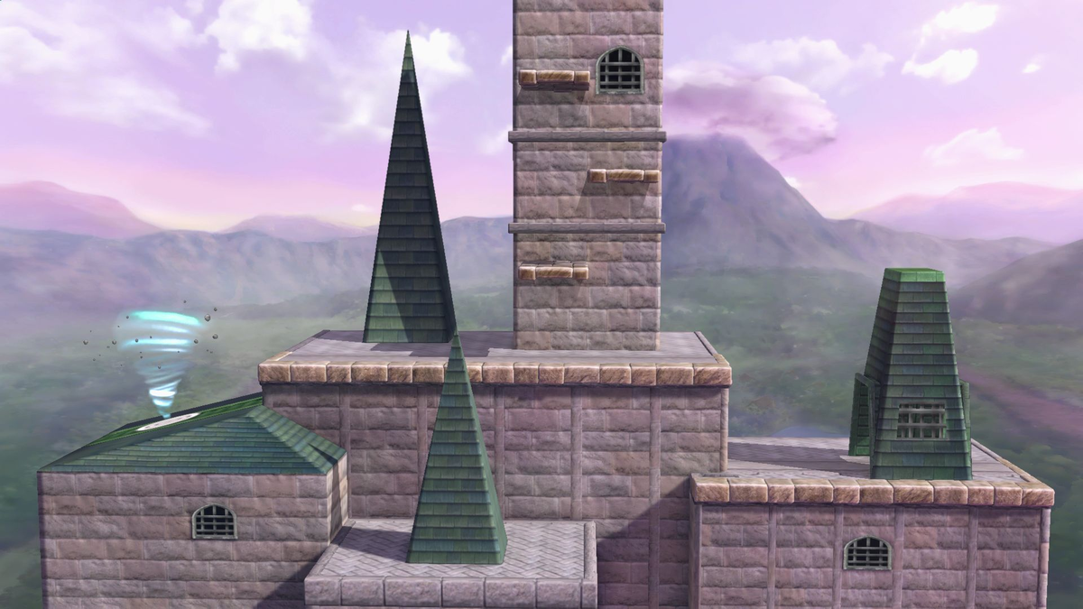 Hyrule Castle Smashwiki The Super Smash Bros Wiki