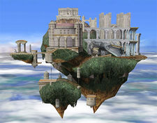 Temple, as it appears in Brawl.