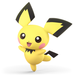 Pichu Ssbu Smashwiki The Super Smash Bros Wiki