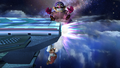 Wario Down Throw Meteor Smash Brawl.png