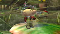 Olimar Idle Pose 2 Brawl.png