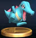 Totodile - Brawl Trophy.png