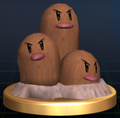 Dugtrio - Brawl Trophy.png