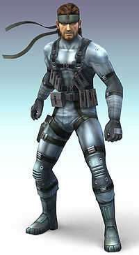 Image result for solid snake super smash bros