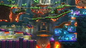 The Great Cave Offensive Smashwiki The Super Smash Bros