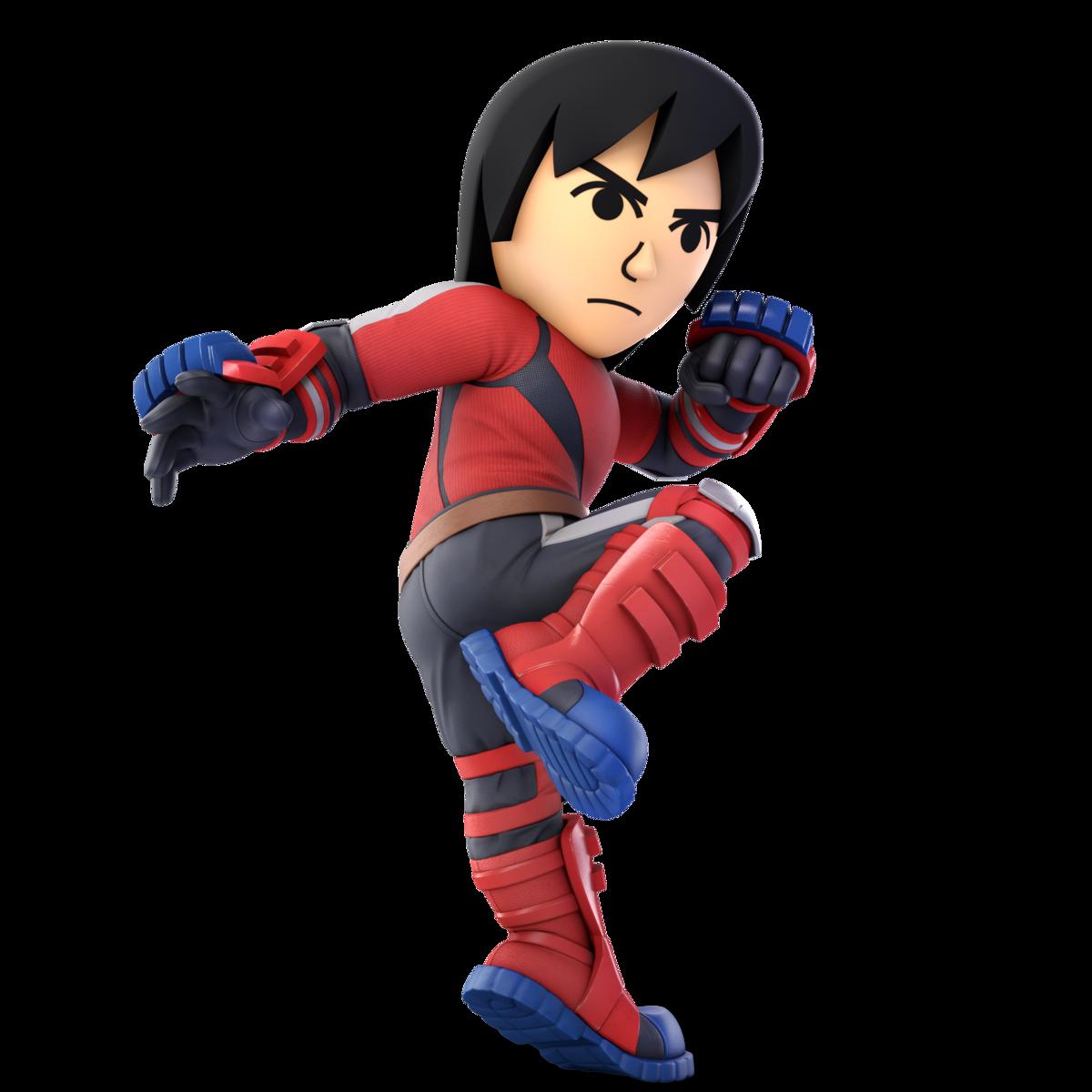 Mii Brawler (SSBU) - SmashWiki, the Super Smash Bros  wiki