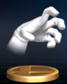 Crazy Hand - Brawl Trophy.png